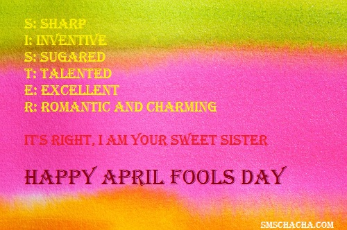 Funny April Fools Day Picture Sms