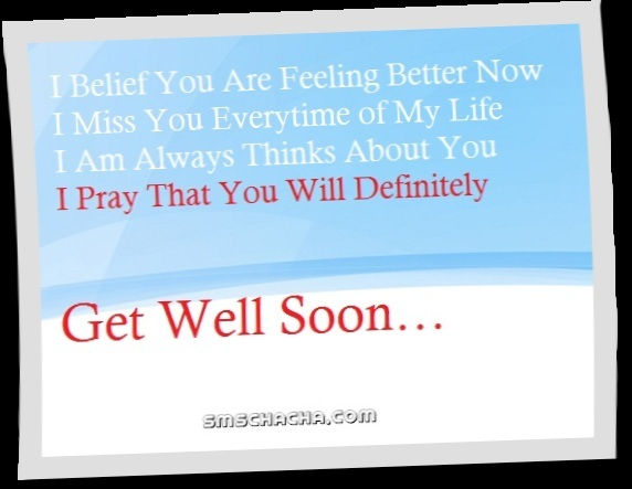 get well soon facebook pictute sms