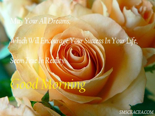 Good Morning Sms Success