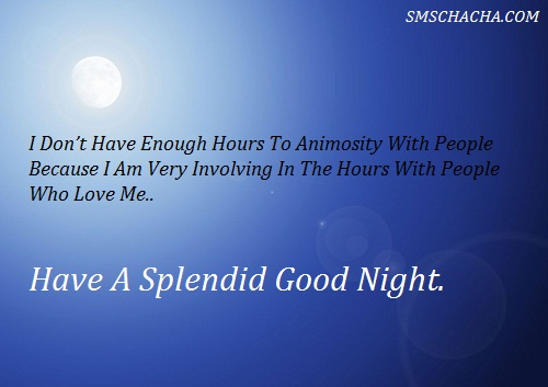 Good Night Love Sms English