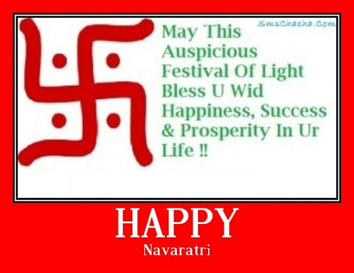Navaratri Sms Message Picture