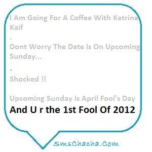 april fool sms message pics