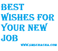 Best Wishes Message For New Job