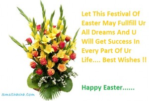 sms wishes on easter