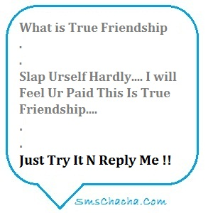 funny sms on friendship