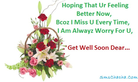 pics photos sms messages get well soon