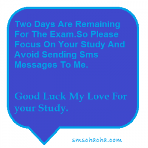 Exam Sms To Girlfriend