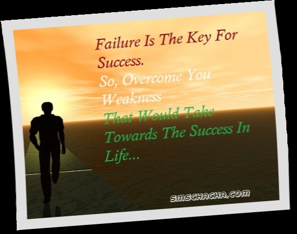 failure encouragement Quotes picture sms for facebook