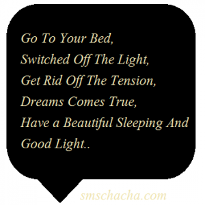 Romantic Good Night Sms For Girlfriend English