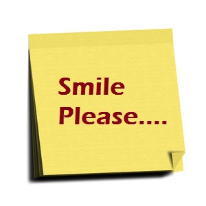 Smile Please Sms Message