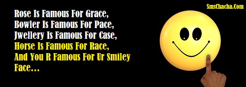 smile sms image for boss friends whatsapp and facebook