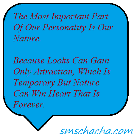 positive personality message