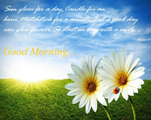 Very Beautiful Morning Sms