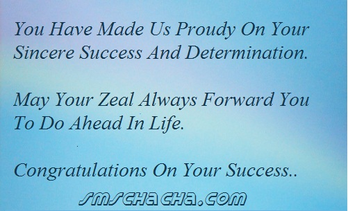 Congratulations Message For Achievement