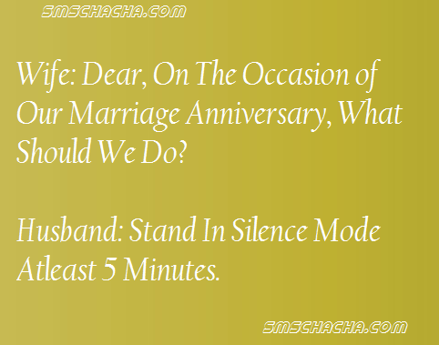 funny anniversary wife jokes sms