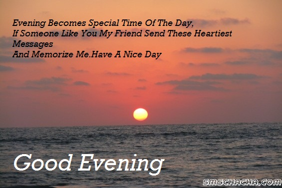 good evening wishes pictures