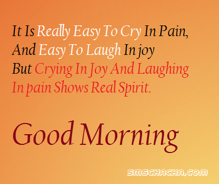 good morning sms message english facebook status picture
