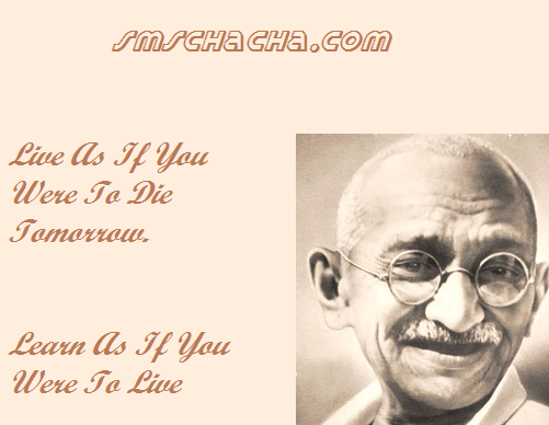 Mahatma Gandhi Quotes Picture