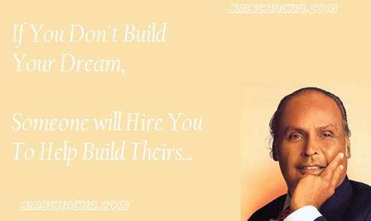 famous motivational quotes picture scraps of dhirubhai ambani facebook