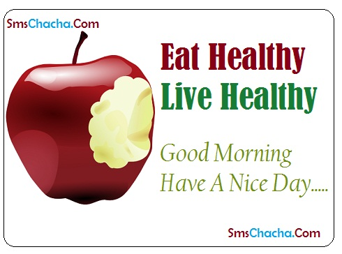 eat healthy live healthy quotes picture facebook