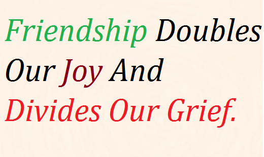 Friendship Quotes With Images For Facebook