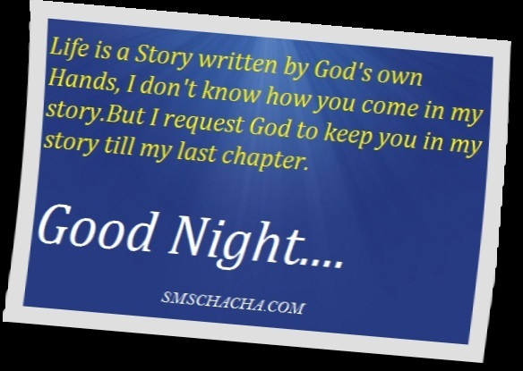 good night sms quotes picture
