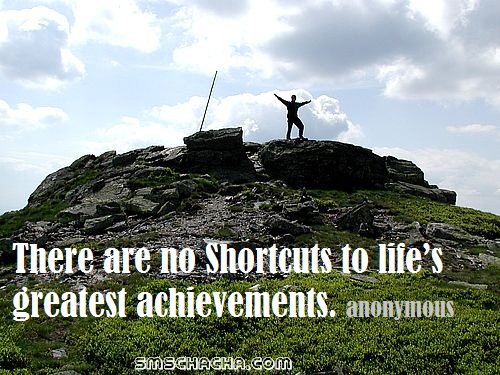 Quote On Success And Achievement
