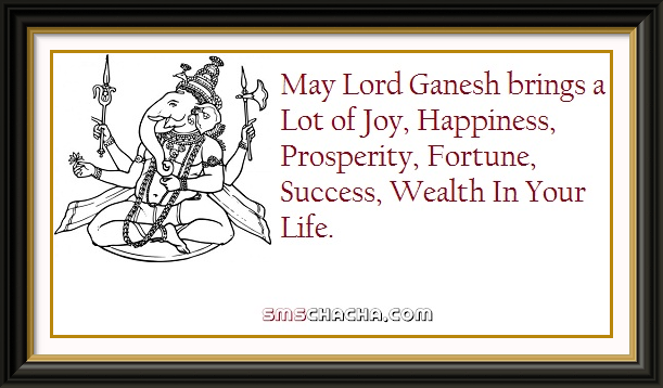 ganesh chaturthi greetings picture sms 2012