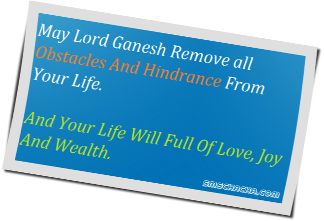 ganesh chaturthi quotes sms wishes picture
