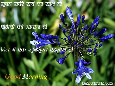 Good Morning Saying Hindi
