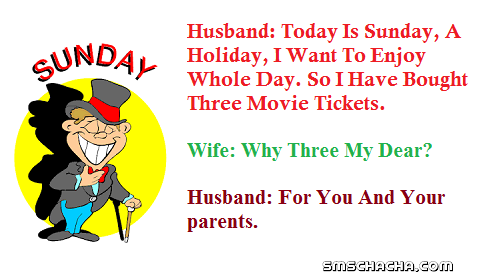 Funny Sunday Jokes Hindi With Picture For Whatsapp And Facebook