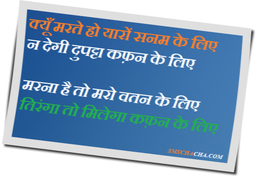 republic day funny shayari sms