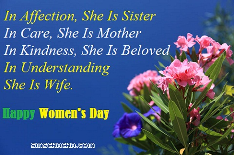 happy woman day pics with message