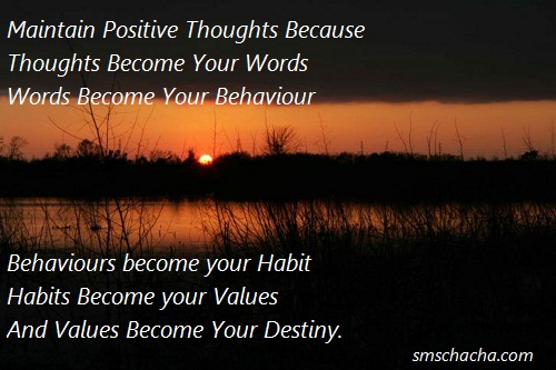 Positive Thoughts Quotes Picture