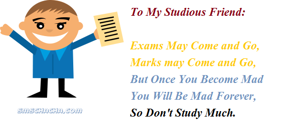 Funny Exam Sms For Friends