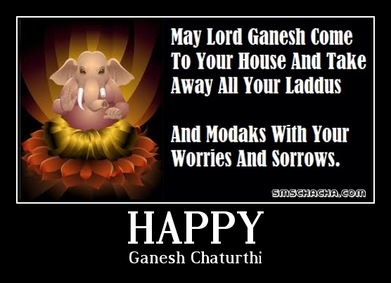 ganesh chaturthi greetings sms facebook