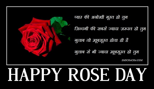 ROSE DAY SHAYARI FACEBOOK
