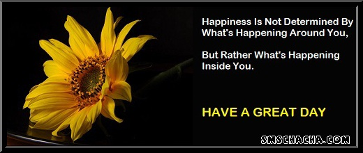 Happiness Quotes Sms With Image