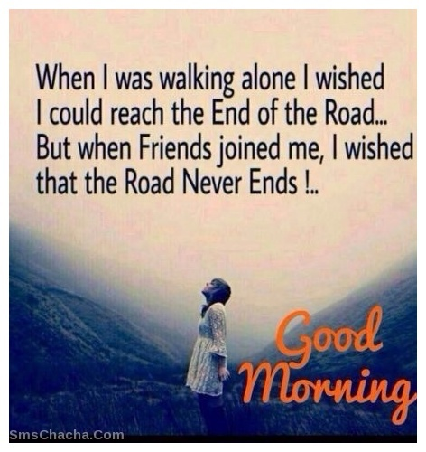 Good Morning Sms For Friends