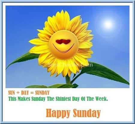 happy sunday pic sms for whatsapp and facebook status