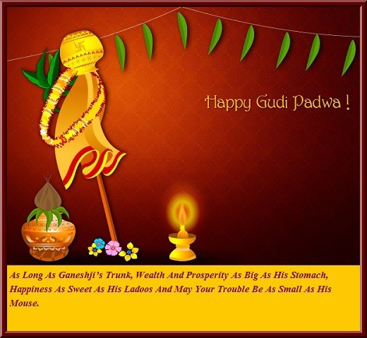 gudi padwa wallpaper for facebook and whatsapp