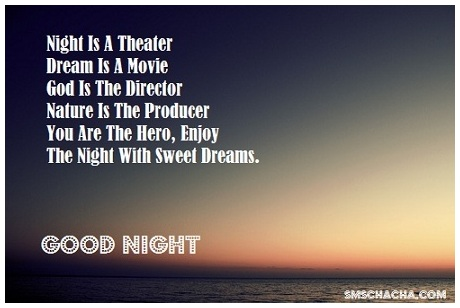 Good Night Sweet Dreams Status