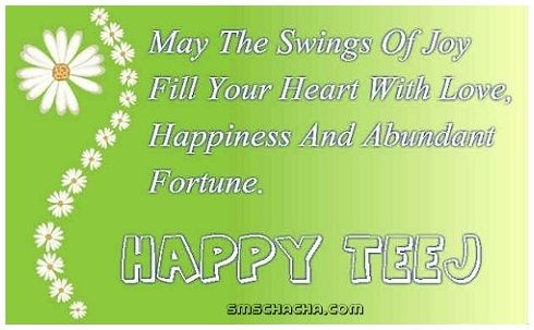 happy hariyali teej sms message whatsapp