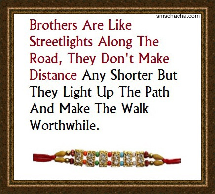 raksha bandhan message for brother whatsapp and facebook