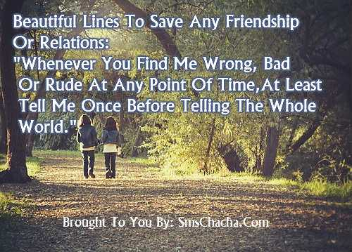 friendship whatsapp quotes sms Message With Picture
