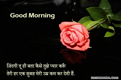 Good Morning Whatsapp Wallpaper Msg Hindi