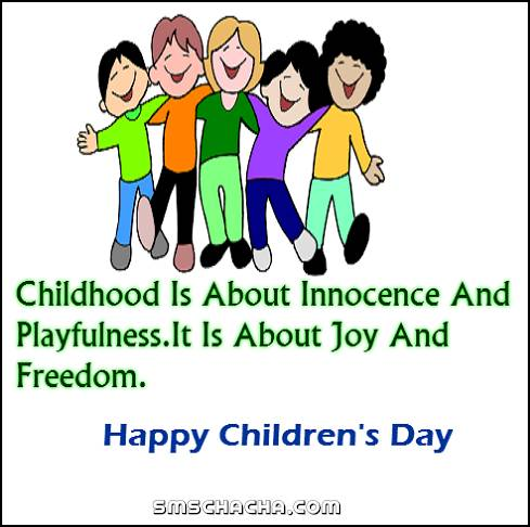 Happy Children's Day Status Picture Whatsapp and Facebook