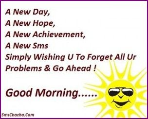 Motivational Good Morning Sms