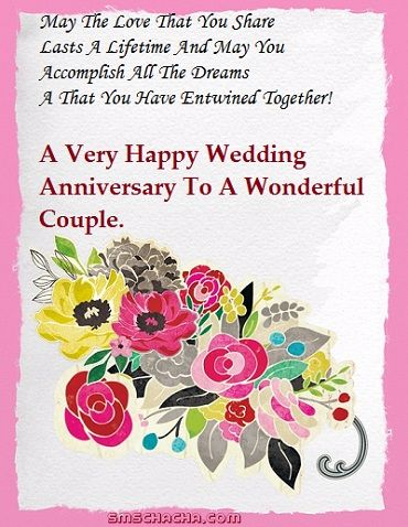 Marriage Anniversary Status And Wedding Anniversary Sms Messages