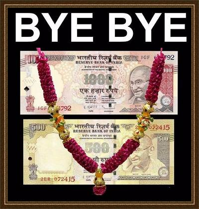 Funny Demonetization Picture Kala Dhan Black Money whatsapp and facebook jokes
